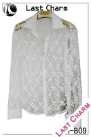new fashion woman ladies blouses and tops 2014