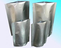 Custom Printed Stand Up Reusable Aluminum Foil Bags