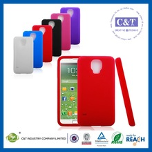 Popular universal mobile for samsung galaxy s5 i9600 plastic silicone net case