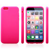 Wholesale New Arrival Silicone cellphone cover for iphone 6,Soft Plain Silicone Case Gel Rubber Skin Cover for Apple iphone 6