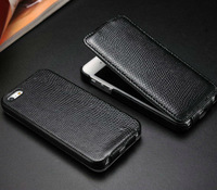 lychee pu leather case with holder for iphone 5g