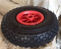 10 inch pneumatic rubber wheels 3.00-4