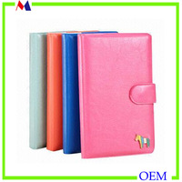 High quality supplier custom school diary leather cover page design