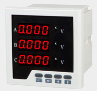 Intelligent three-phase voltmeter with analog output