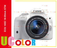 CANON EOS 100D Digital SLR White Camera With EF-S 18-55 mm IS STM Lens Kit