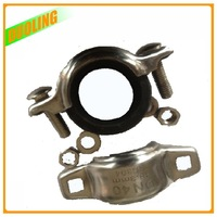 Galvanized electric cord coupling foundry cast casting iron Pipe Connector
