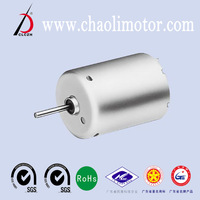 12v 3100rpm CL-RF370CB micro dc motor for stand fan and remote-control aeronautic prototype with price advantage