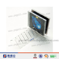NEW Design!!!Factory Manufacturing Custom Modern Acrylic Horizontal CD Rack