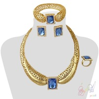 artificial jewellery 1 grams gold plated jewelry set guangzhou Yulaili fashion jewelry set wholesale Alibaba