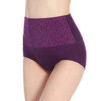 Super eco friendly underwear cotton high waist ladies underwear underwear for fat women
