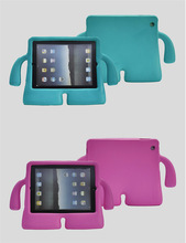 Rugged frame surface protect kids tablet cover for ipad series