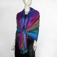 Wholesale popular stole with women modern scarf shawl shawl TSV-036