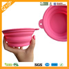 Factory Sale PVC and BPA Free Silicone Foldable Pet Bowl