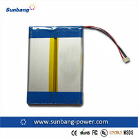 Rechargeable battery pack 7.4v 1700mah polymer battery