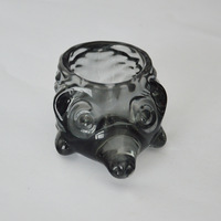 USA hot seller animal shape crystal glass candle holder
