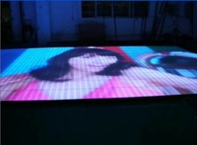 ground floor video, P25 led video dance floor, disco/club/car show/exhibition