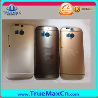 China good supplier in gold back cover for HTC One M8 32gb,Housing for HTC One M8 phone