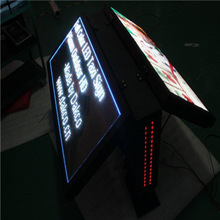 LightS LS1898 Moving Advertising P6.67 DIP Taxi Top Currency Bank Exchange Rate LED Display