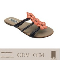 ladies fashion flat summer sandals 2014 for women