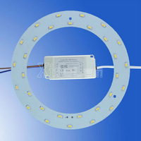 18w 1800Lm magnetic ring LED ceiling light replace to 36W traditional 2D tube