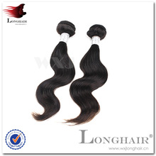 Double Layer Machine Made Weft Peruvian Great Lengths Hair Extensions
