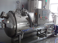 computer automatic water spray retort milk pasteurizing and packing