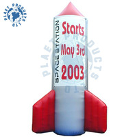 Inflatable Rocket for advertising (PLAD32-094)