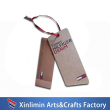 popular clothing custom printed jewelry hang tags