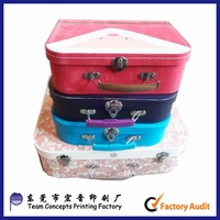children's toys and gifts packing box with handle and lock made in China
