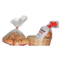 PE printed food grade plastic bread bag