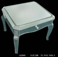 acrylic nesting end tables mirror furniture