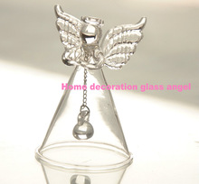 wholesale glass christmas angel ornaments