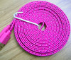 Fabric Nylon Braided USB Charger Sync Cable Cord for iPhone 5