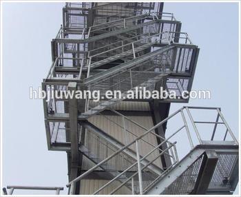 outdoor steel staircase manufacturer iso9001 buy outdoor steel