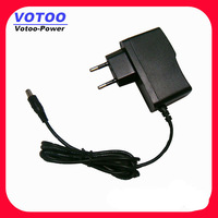 Pedal power adapter guitar 9V 1A 1.5A 1.6A with 5.5*2.1mm 90 angle dc plug