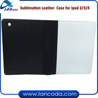 sublimation tablet case for ipad2/3/4,pu leather phone cover