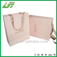wholesale custom grape paper bag with rope handle