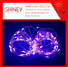 Events decoration battery powered waterproof led string lightings