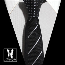 TOP fashion Panel necktie Contrast dots Knot with diagonal stripes high qality Microfiber neckties