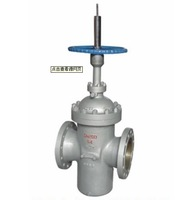 electric oilfield gear box FC gate valve with drain