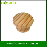 Wholesale cupboard or cabinet small wooden knob from shenzhen factory