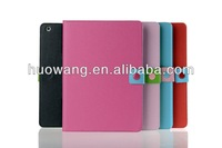 Color Blocking leather case for ipad air,rotation stand for ipad air case