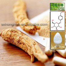 Herb Health Food 98% gastrodin rhizoma gastrodiae extract by HPLC