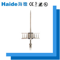 A pre-discharge iron thunder outdoor house light rod