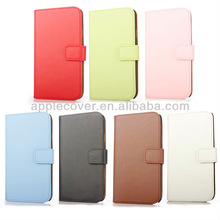 Plain Design mobile phone leather cover for note 3,for note 3 clone