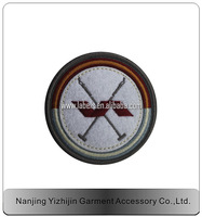 High quality embroidered woven label patch for cloth