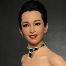dummy resin statue of china movie actor wax figure