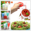 Food Grade Squeeze Silicone Liquid Bottle&Container For Spices