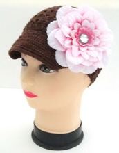 Newest child hat knitted muslim crochet cap(IN STOCK)