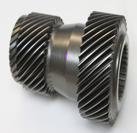 CNC precision machining stainless steel cluster gear, steel machined helical gear